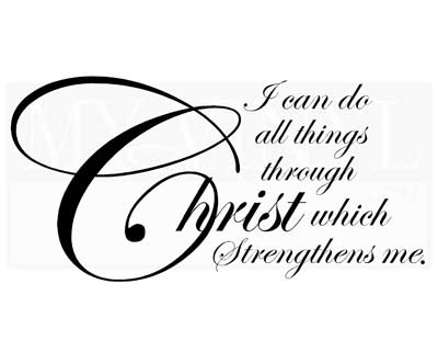 C052 I can do all things through Christ