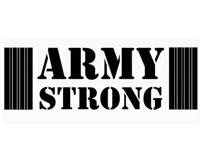 PA013 Army Strong