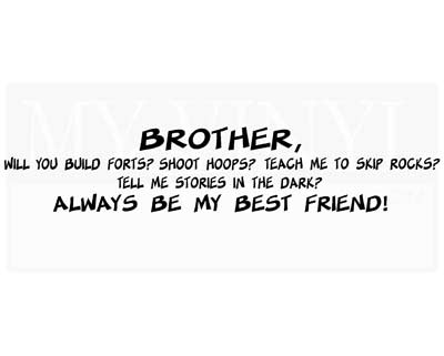CT029 Brother, will you build forts?