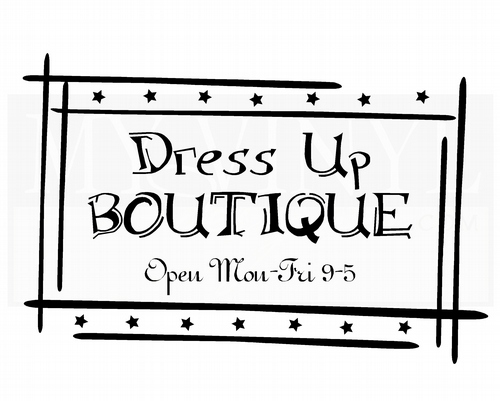 AM004 Dress up Boutique