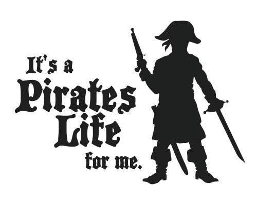 BC222 It's a pirates life for me
