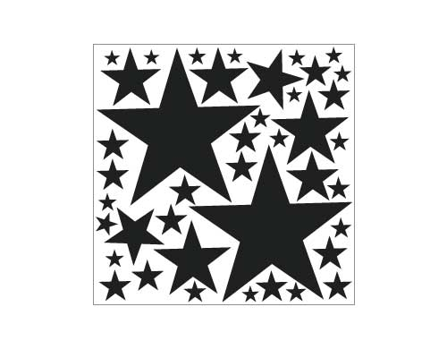 EM111 Star Sheet vinyl graphics