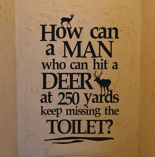 KW738 How can a man who can hit a deer...
