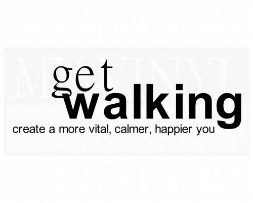 HF005 Get walking Create a more vital, calmer, happier you