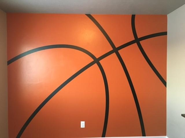 IM023 Basketball stripes lines