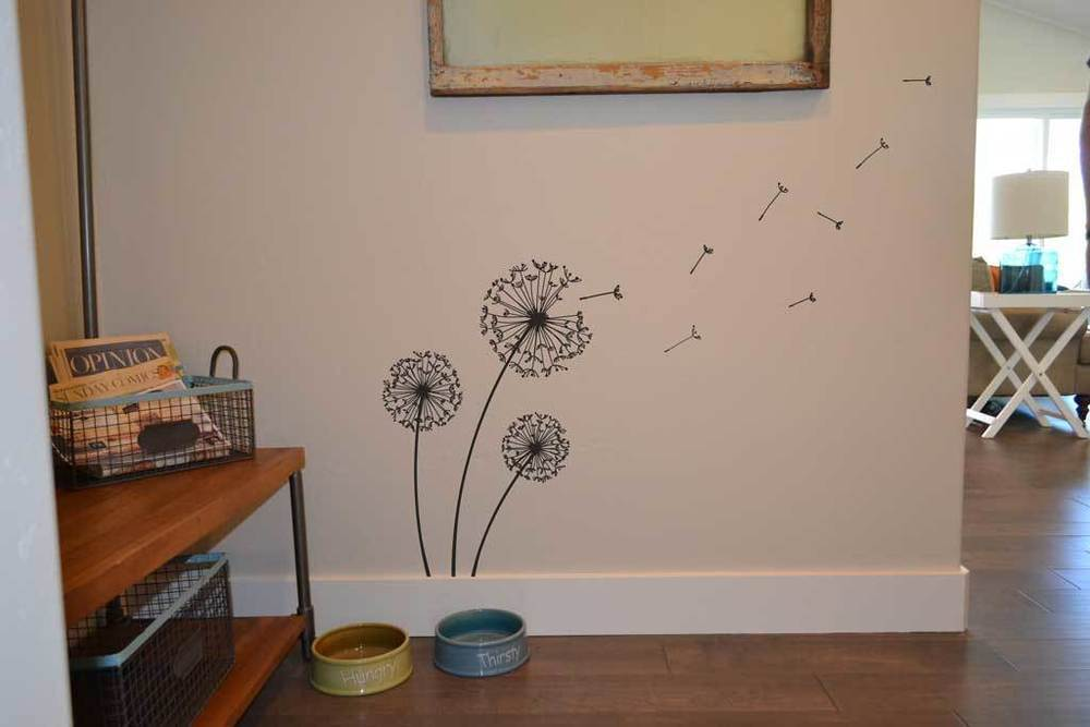 Dandelion Wall Decal Sticker IM015