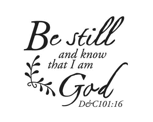 BC228 Be still