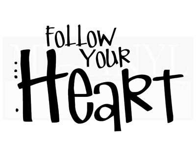 IN016 Follow your heart