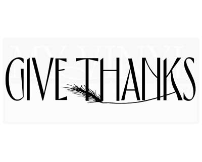 G005 Give Thanks