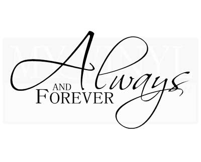 LO011 Always and forever