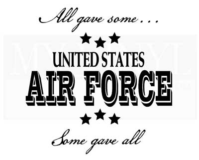 PA005 All gave some... Air Force