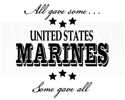 PA007 All gave some... Marines