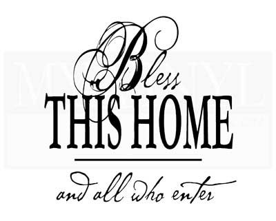 EN003 Bless this home and all who enter