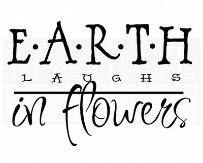 GB003 Earth laughs in flowers