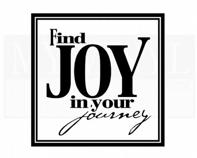 HJ005 Find Joy in your journey