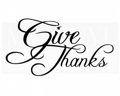 G008 Give Thanks