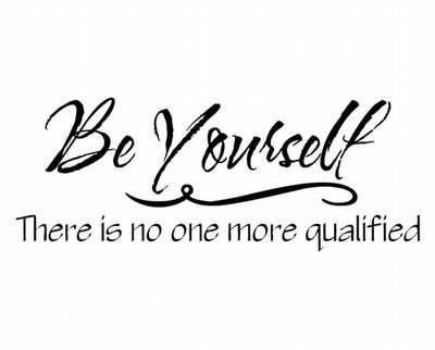 BC187 Be Yourself