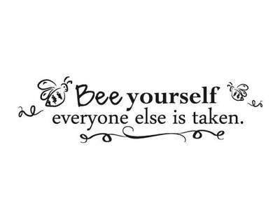 KW162 Bee yourself