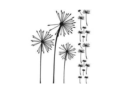 Dandelion Simple vinyl graphics