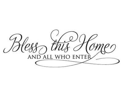 RC009 Bless this home