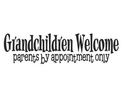 BC137 Grandchildren Welcome