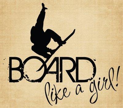 BM016 Board like a girl