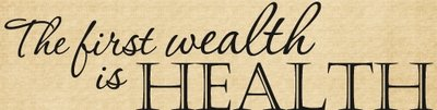 DOC128 The first wealth is health