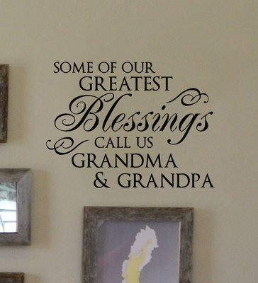 CLEARANCE Some of our greatest 13 x 10 black wall decals