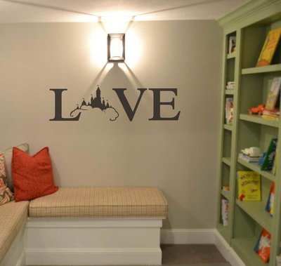Love Disney decal wall sticker BC775