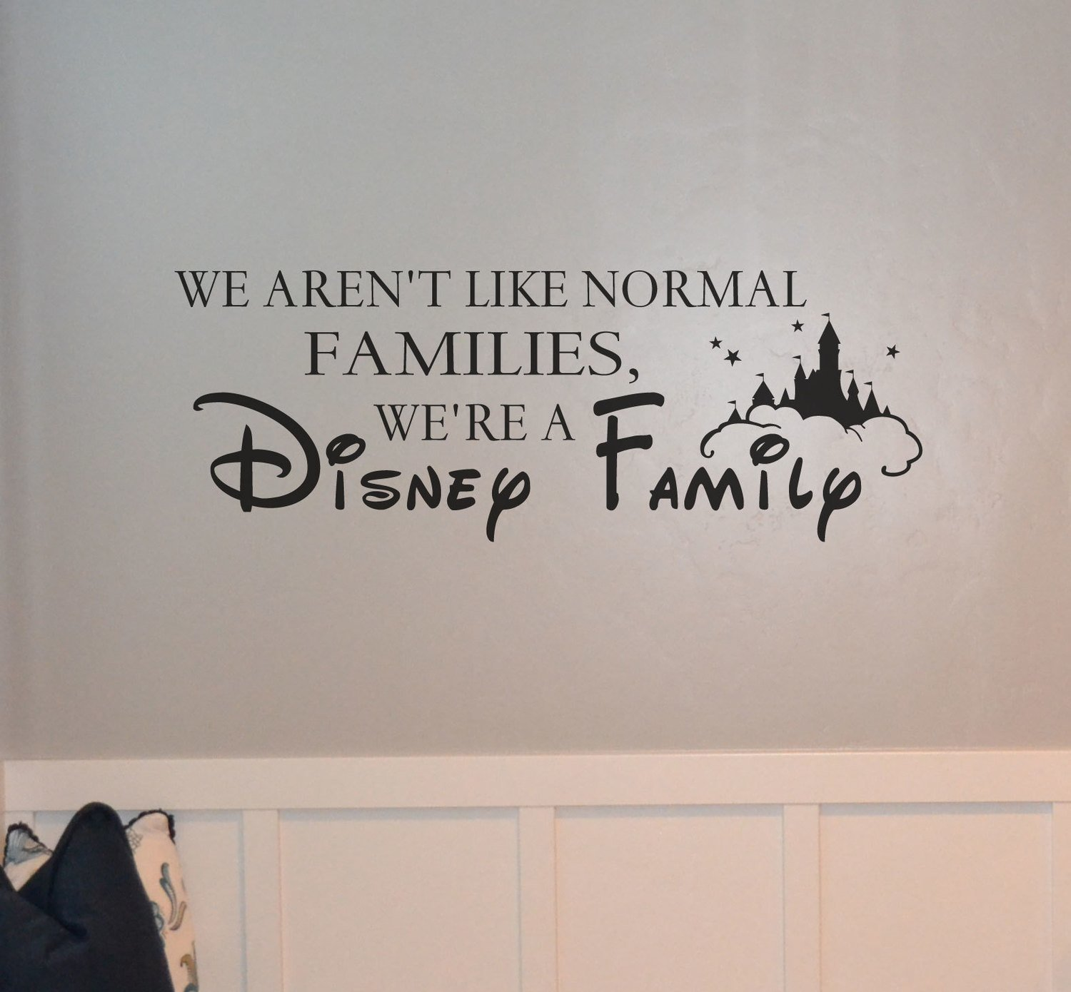 We aren't like normal families, we're a Disney family BC793