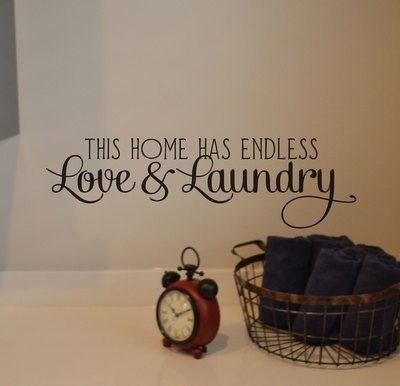 CLEARANCE This home has endless 24 x 7 black wall decals