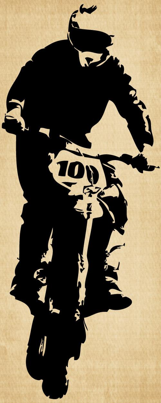 IM014 Dirt Bike Headed