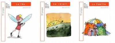 3 livres : SMOL et LUCIOLE niveau ROUGE C