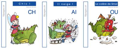 3 livres : SMOL et LUCIOLE niveau BLEU FONCE B