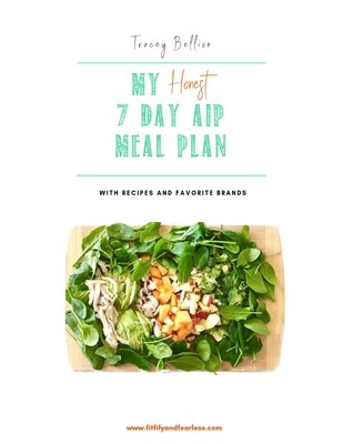 My Honest 7-Day AIP Meal Plan eBook