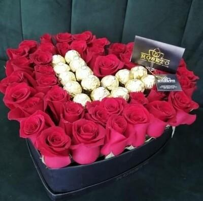 Corazon Rosas + Ferrero