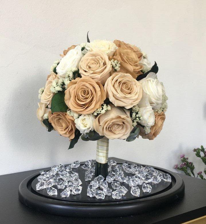 Bouquet de novia eternizado