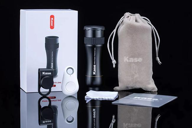 Kase 300mm 4K Professional Super Telephoto Zoom Phone Lens [New 2019]