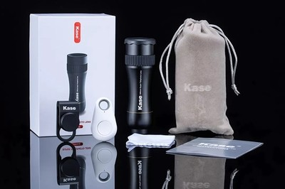 Kase 300mm 4K Professional Super Telephoto Zoom Phone Lens [New 2019]