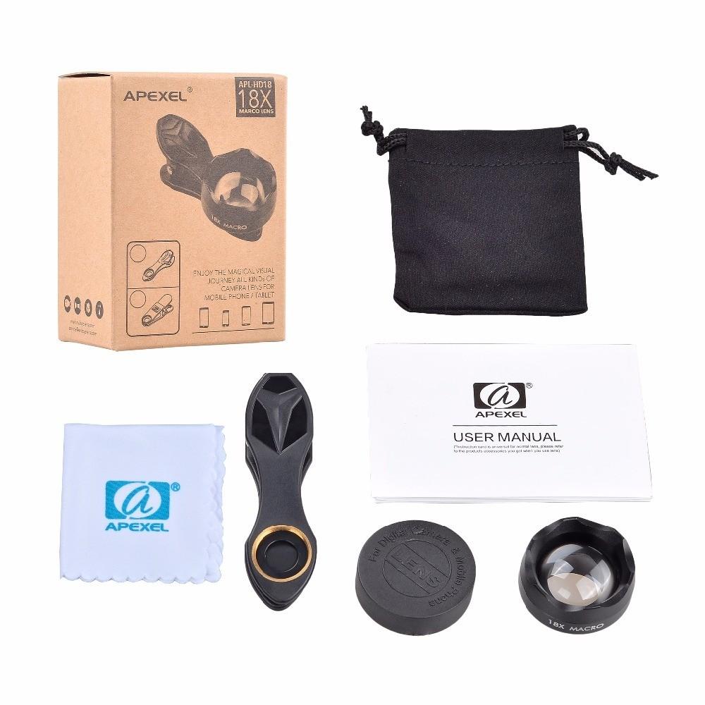 [Prebook] Apexel 18x HD Macro Phone Camera Lens