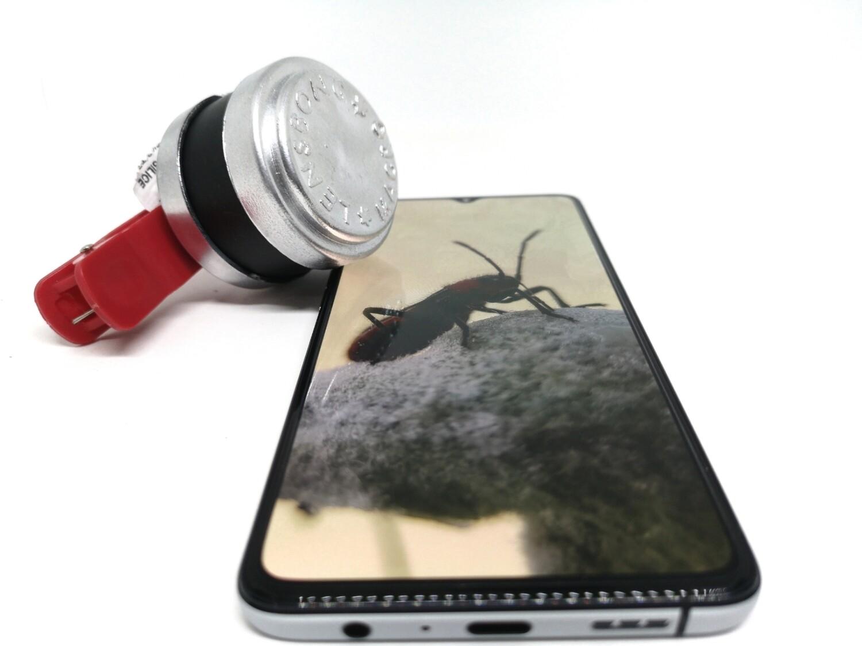 Prosumer 4.9cm Lensbong Indo Macro Phone Lens [Made from Nikon L110]