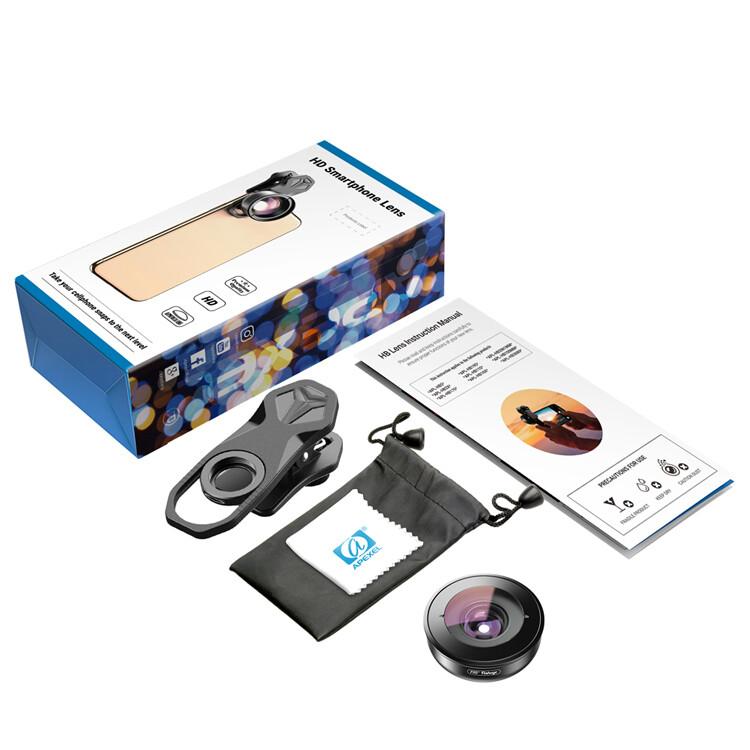 Apexel 100mm 10x Professional 4K Macro Phone Lens [New 2019]