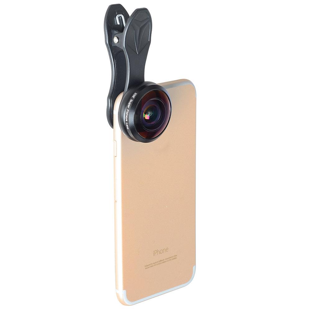 Apexel 238 degree Full HD Super Fisheye Phone Lens