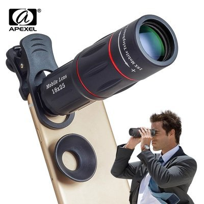 Apexel 18x Super Zoom Telephoto Telescopic Phone Lens