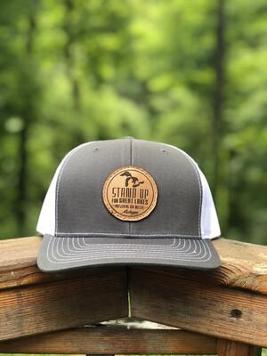 SUFGL Low Profile SnapBack Hat-Charcoal