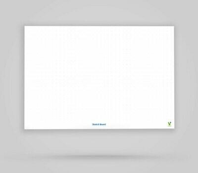 Vi-Board: Sketch Board - Whiteboard Poster - DIN A0