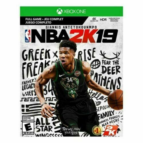 NBA 2K19 Digital Download Card New