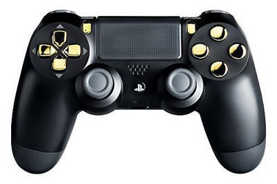 10,000 Mode Mod Controllers Ps4 Gold Out Controller Playstation 4