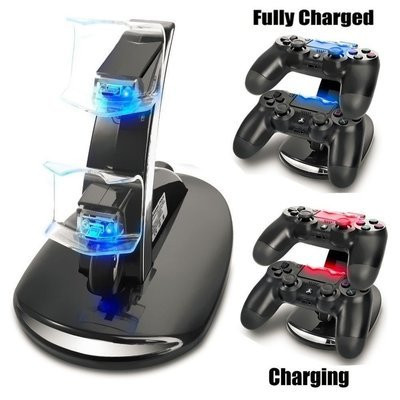 Ps4 Dual Controller Charger Dock Charging Station Playstation 4