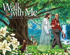 Walk With Me coloring book